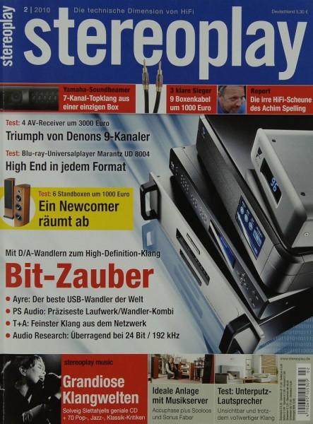Stereoplay 2/2010 Zeitschrift