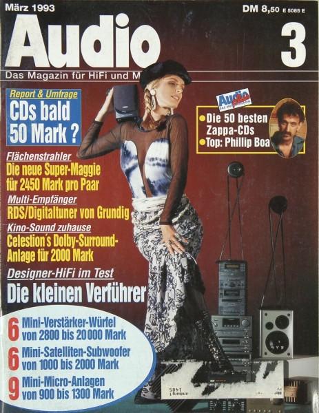 Audio 3/1993 Zeitschrift