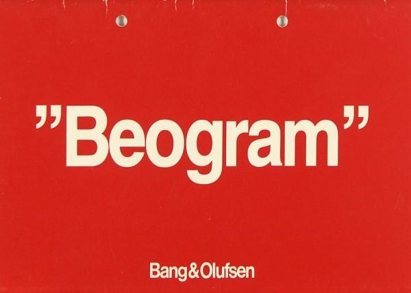 B & O Beogram CDX Bedienungsanleitung