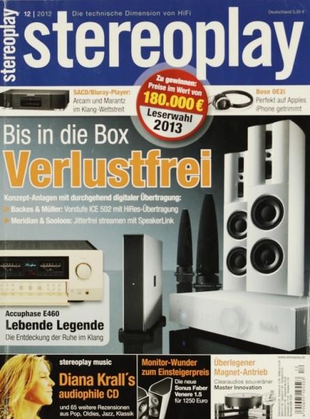 Stereoplay 12/2012 Zeitschrift