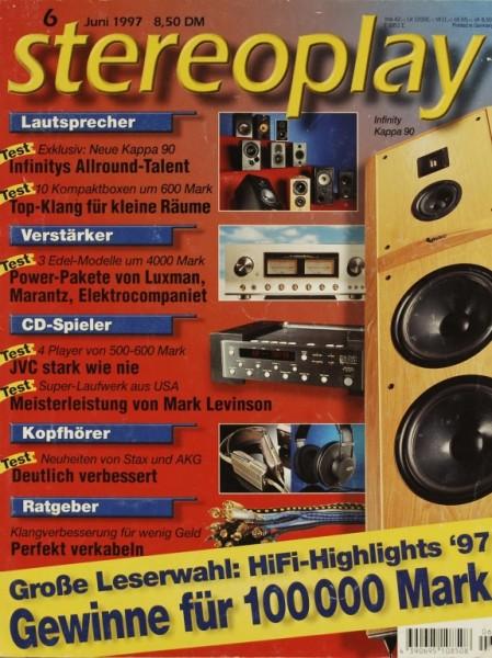 Stereoplay 6/1997 Zeitschrift