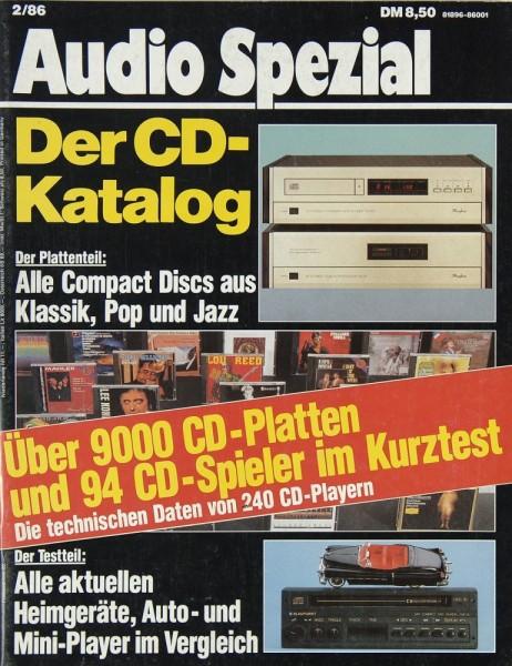 Audio Spezial 2/1986 Zeitschrift