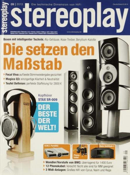 Stereoplay 9/2013 Zeitschrift