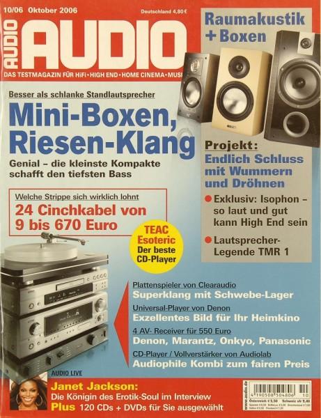 Audio 10/2006 Zeitschrift