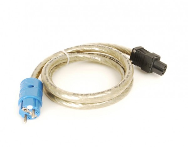 Voodoo Cable Silver Mica Netzkabel 1.50