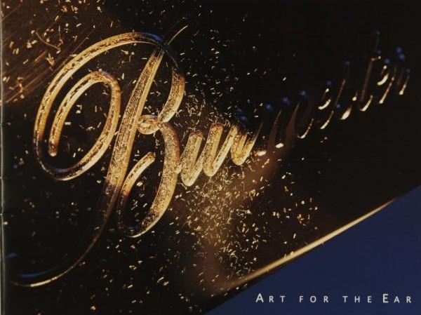 Burmester Art of the Ear (2006) Prospekt / Katalog