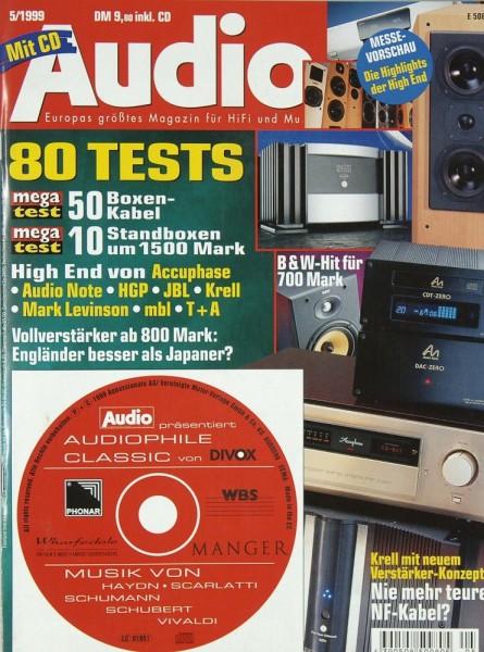 Audio 5/1999 Zeitschrift