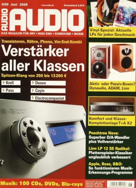 Audio 6/2009 Zeitschrift