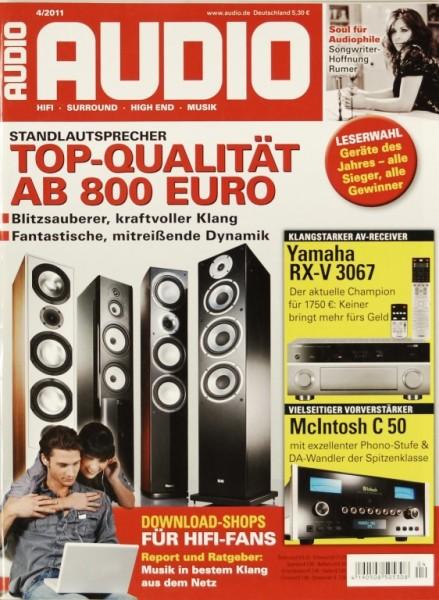 Audio 4/2011 Zeitschrift
