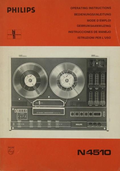 Philips N 4510 Bedienungsanleitung
