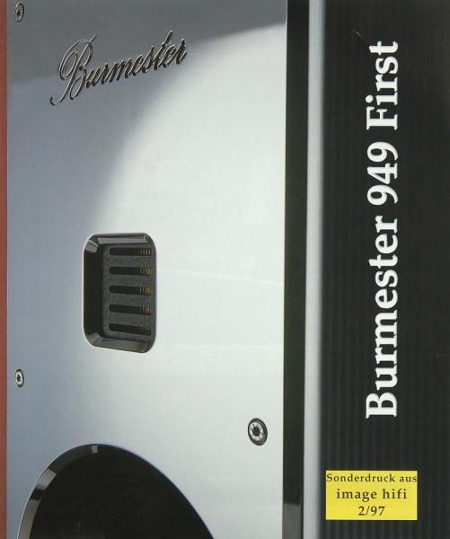 Burmester 949 First Testnachdruck