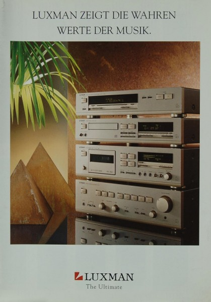 Luxman The Ultimate Prospekt / Katalog