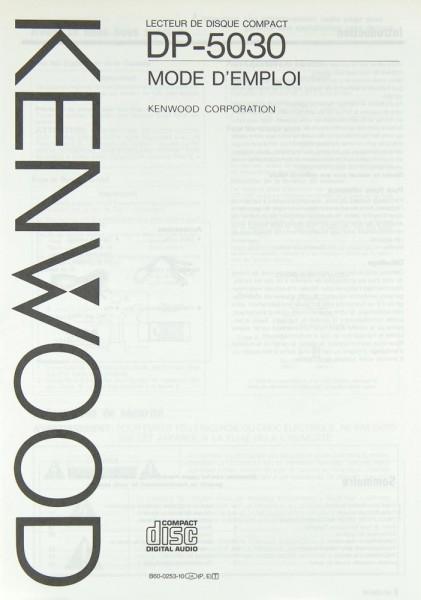 Kenwood DP-5030 Bedienungsanleitung
