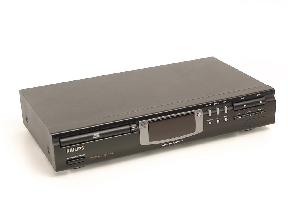 philips cd 713 cd player cd ger te ger te gebrauchte hifiger te kaufen. Black Bedroom Furniture Sets. Home Design Ideas