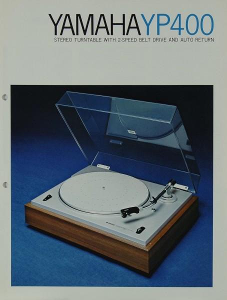 Yamaha YP 400 Prospekt / Katalog