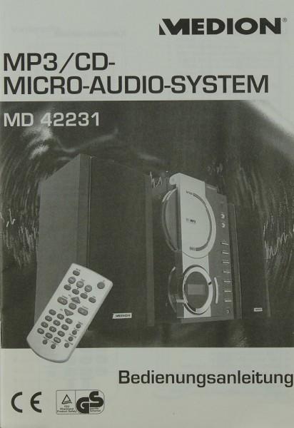 Medion MD 42231 Bedienungsanleitung