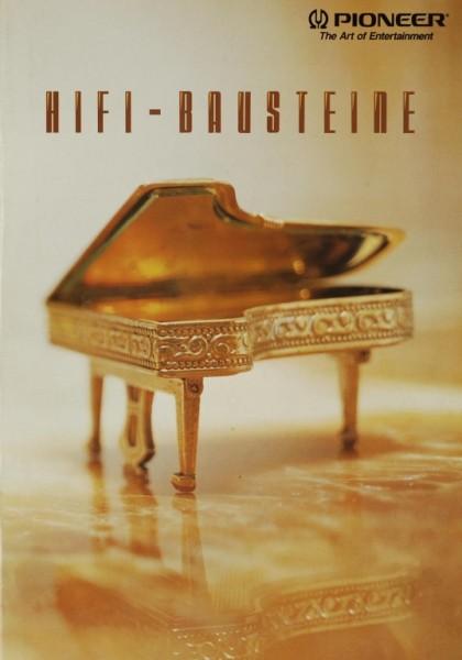 Pioneer HiFi-Bausteine (1992) Prospekt / Katalog