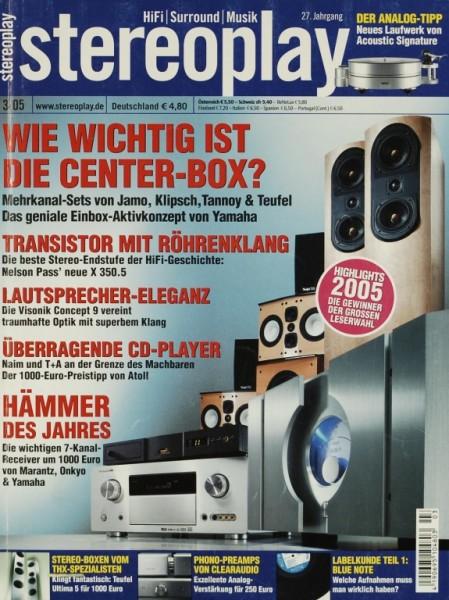 Stereoplay 3/2005 Zeitschrift