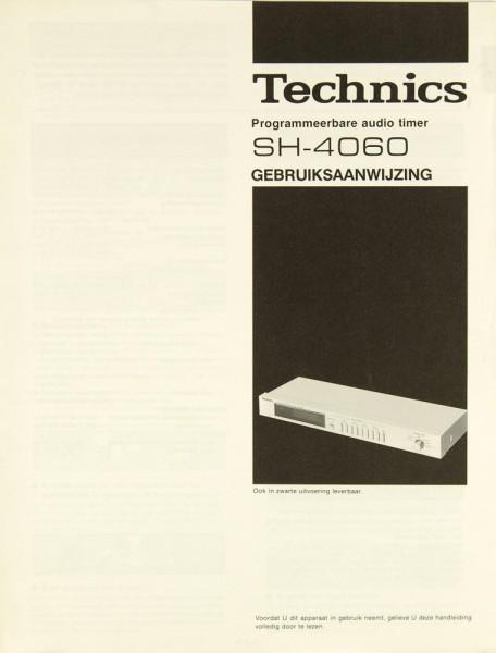 Technics SH-4060 Bedienungsanleitung