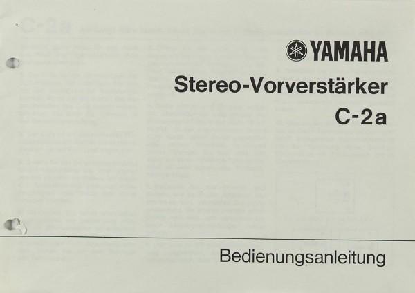 Yamaha C-2a Bedienungsanleitung