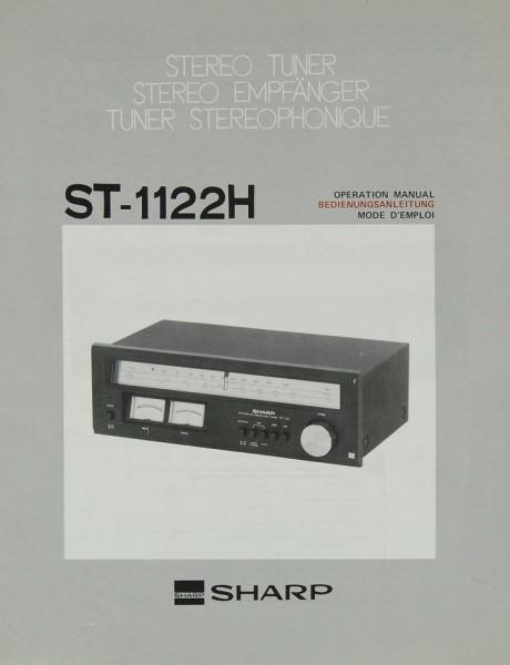 Sharp ST-1122 H Bedienungsanleitung