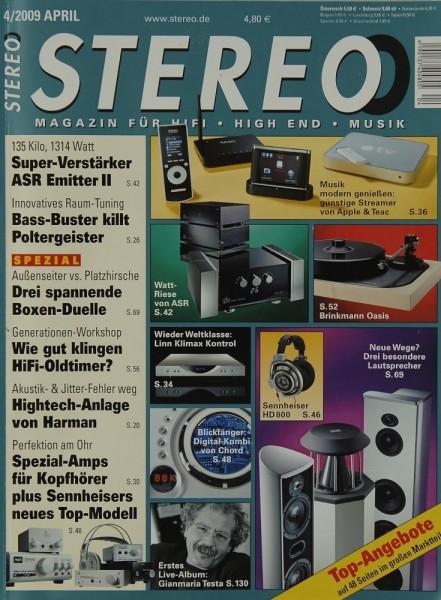 Stereo 4/2009 Zeitschrift