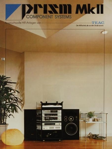 Teac Prism Mk II Prospekt / Katalog