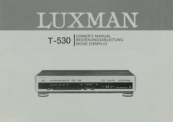 Luxman T-530 Bedienungsanleitung