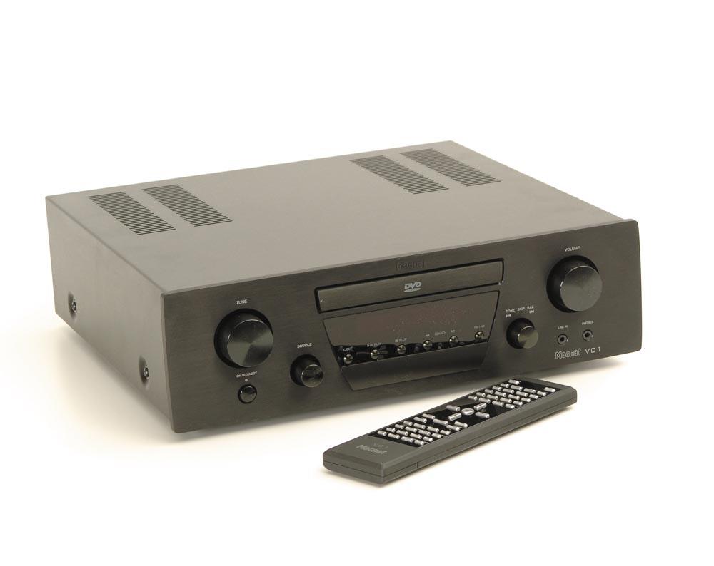 magnat vc 1 dvd receiver ohne lautsprecher. Black Bedroom Furniture Sets. Home Design Ideas