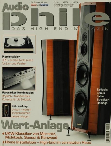 Audiophile 1/2004 Zeitschrift