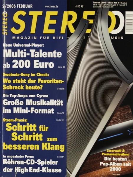 Stereo 2/2006 Zeitschrift