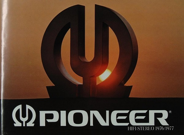 Pioneer Hifi-Stereo 1976 / 1977 Prospekt / Katalog
