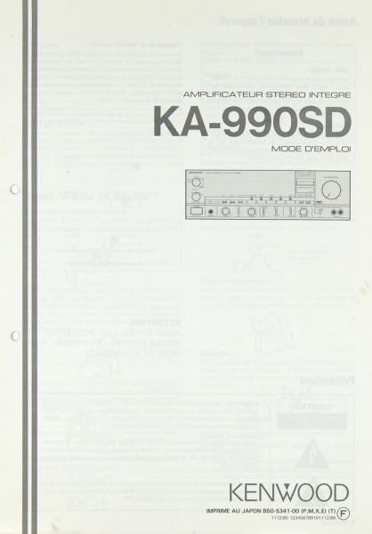 Kenwood KA-990 SD Bedienungsanleitung