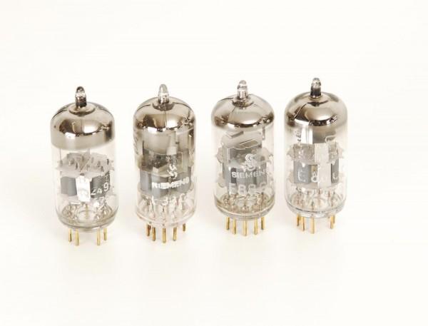 Siemens E88CC Goldpin Röhren Quartett