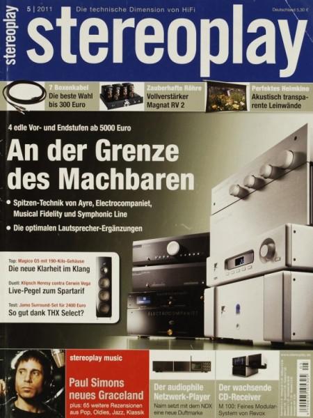 Stereoplay 5/2011 Zeitschrift