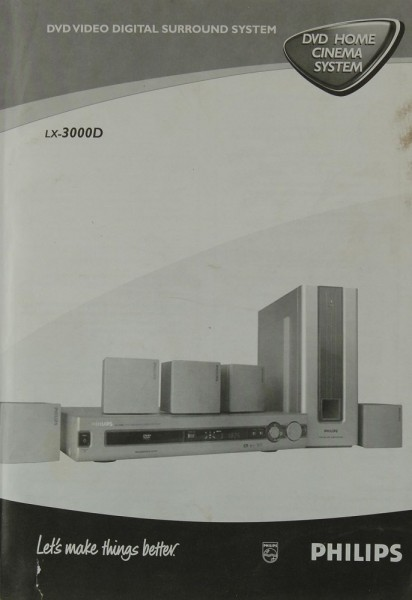 Philips LX-3000 D Bedienungsanleitung