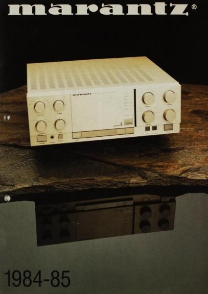 Marantz 1984-85 Prospekt / Katalog