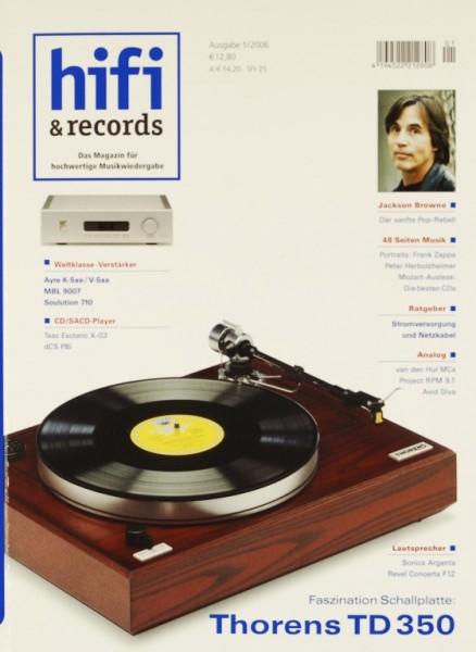 Hifi & Records 1/2006 Zeitschrift