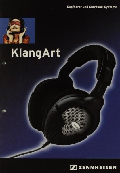Sennheiser KlangArt (1999) Prospekt / Katalog