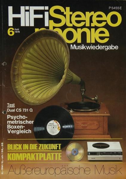 Hifi Stereophonie 6/1979 Zeitschrift