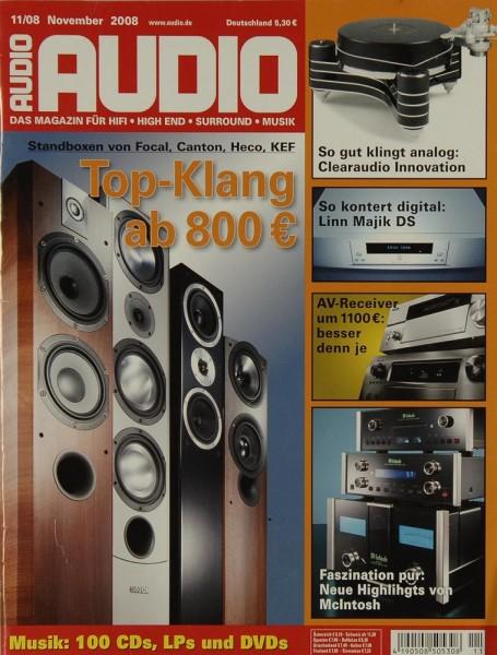 Audio 11/2008 Zeitschrift