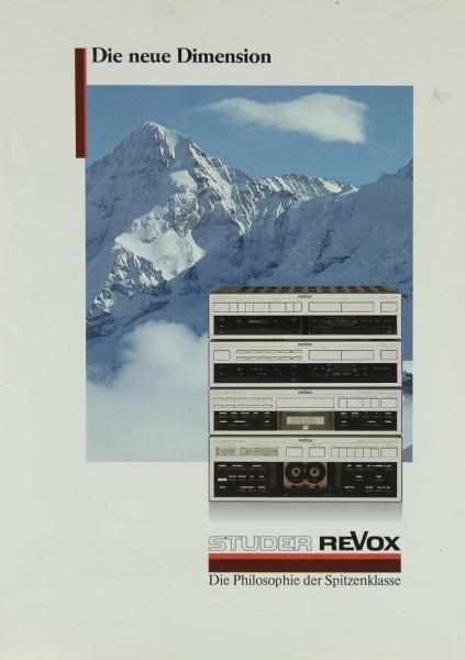 Revox B 250 / B 260 u.a.. Prospekt / Katalog