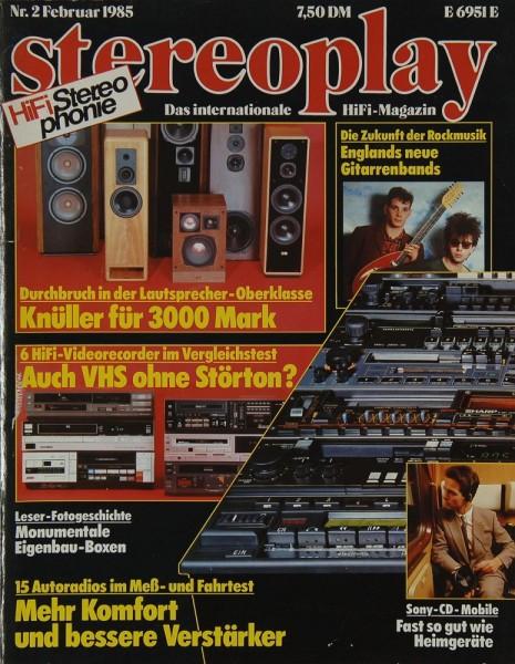 Stereoplay 2/1985 Zeitschrift