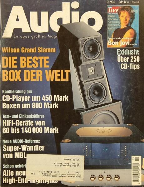 Audio 5/1996 Zeitschrift
