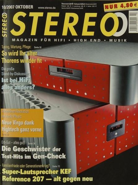 Stereo 10/2007 Zeitschrift