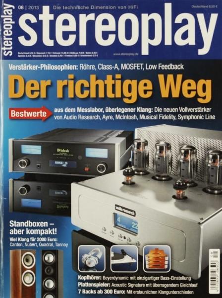 Stereoplay 8/2013 Zeitschrift