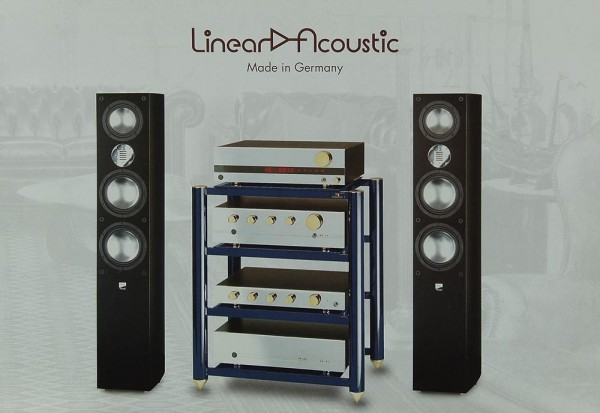 Linear Acoustic Made in Germany Prospekt / Katalog