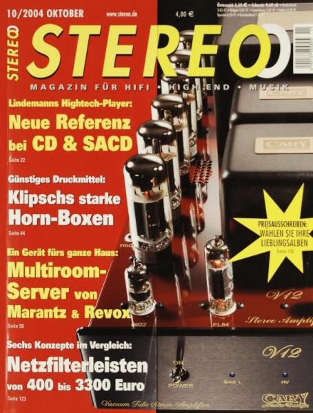 Stereo 10/2004 Zeitschrift