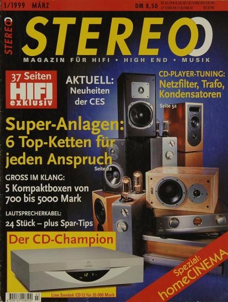 Stereo 3/1999 Zeitschrift