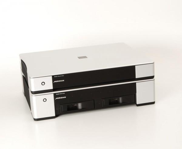 Meridian Sooloos Media Source 600 + Drive 600 Streamer Musicserver 2 x 2TB